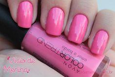 Vício de Menina: Swatches: Coleção Entre Nessa Onda - Avon Color Trend