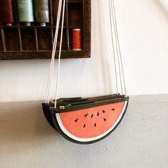 Borsa di melone anguria borsa portafoglio bambini di LaLisette