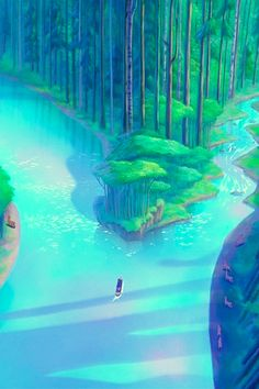 A girl from my own heart. Pocahontas, River Bend inside the Canoe: Exemplifying the choice between two paths. One in which the heart would win its calling, and the other, in which the expectations from the tribe upon her marriage, would be fulfilled.