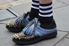 Studded Jewel Loafer Doc Martens Oxfords, Oxford Shoes, Loafers, Trends, Jewels, Fashion, Travel Shoes, Moda, Jewelery