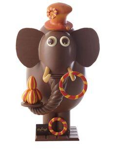 L'éléphant jongleur, l'œuf de Pâques Le Nôtre, 225 euros.