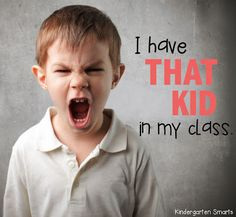 """Tips for dealing with """"that kid"""" in your classroom."""