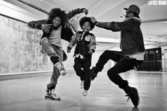 Les Twins, freestyle dancers Laurent and Larry.  Photo by Little Shao