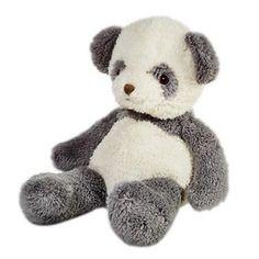 Cartoon panda plush toys for baby 3D stuffed animals best birthday gifts
