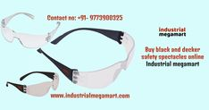 Buy online black and decker safety spectacles by Industrial Megamart. It will help you to get easily the best specs online with a wide variety of range and prices. Industrial megamart is the authorised dealer with the famous brands namely- 3M safety mask & glasses, karam safety products, Black & Decker safety glasses, Nexaweld product, Honeywell safety glasses, Venus mask & glasses etc. Buy black and decker safety spectacles BXPE0501IN eyewear suitable for your workers by industrial…