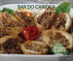Bar do Carioca - Coxinha de rabada com catupiry    11 botecos para visitar antes de morrer do Cumbuca  http://www.cumbuca.com.br/melhores-bares-e-botecos-de-campinas/