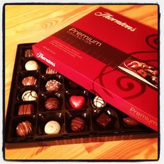 Day #340 - who needs an advent calendar when you have a giant box of chocolates?! Thanks @OcadoUK for my 5th online delivery gift!