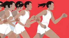 Knowing why women shy away from competition can help increase gender equality at work, this Op-Ed argues. (Illustration: Bianca Bagnarelli)