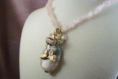 SHIH TZU  nv4  Dog Themed Charm Necklace   Rose by HOBBYHORSELADY, $35.90