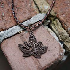 Yoga Lotus Necklace - $22.00