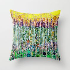 :: Margarita :: Throw Pillow by GaleStorm Artworks - $20.00