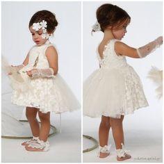 Βαπτιστικό Σύνολο Baby U Rock Ιάνθη 21902G07BAC Girls Dresses, Flower Girl Dresses, Rock, Wedding Dresses, Clothes, Fashion, Dresses Of Girls, Bride Dresses, Outfits