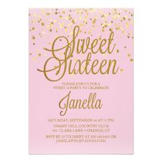 277 Popular Sweet 16 Invitations Images In 2019 Birthdays 16th