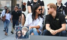 Harry and Meghan Markle make first official appearance together