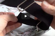 Installer une boucle de réglage sur une brettelle de sac à dos