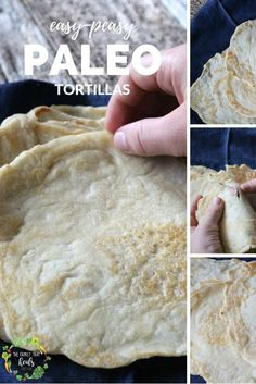 Easy-Peasy Paleo Tortillas using almond flour The Family That Heals Together Paleo Tortillas, Homemade Tortillas, Flour Tortillas, Paleo Recipes Easy, Real Food Recipes, Diet Recipes, Paleo Meals, Diet Meals, Primal Recipes