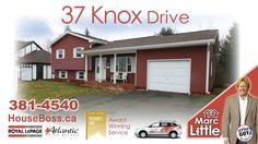 Moncton Real Estate 37 Knox Drive Moncton. Houseboss.ca