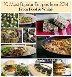 Foodwhine.com's most popular recipes for 2014