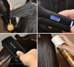 How to Straighten Dry, Frizzy, Color-Treated Hair – Tutorial