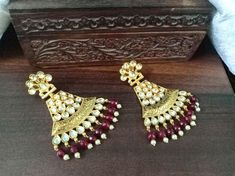 Indian Necklace, Indian Earrings, Women's Earrings, Pakistani Jewelry, Bollywood Jewelry, Etsy Jewelry, Handmade Jewelry, Indian Jewelry Sets, Temple Jewellery