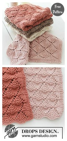 Knitting Patterns Free, Free Knitting, Baby Knitting, Crochet Patterns, Knitting Toys, Dress Patterns, Knitted Washcloths, Knit Dishcloth, Crochet Hooks