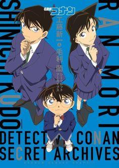 Shinichi Kudo, Conan Edogawa, and Ran Mouri
