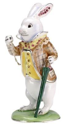 5206 Orn Hidden Treasures White Rabbit H400