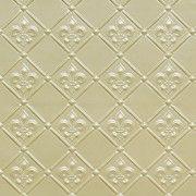 "WC80 Cream Pearl -3"" pattern size, www.talissadecor.com, faux tin backsplash by the roll"