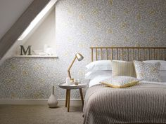 Larksong from the Papavera collection by @SandersonFW. Available at Rodgers of York #Interiors