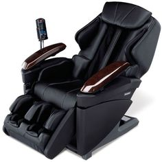 The Heated Full Body Massage Chair.    This is the only full-body massage chair that combines the invigorating touch of a massage therapist's hands with the restorative sensation of hot stone therapy. Thermal rollers in the chair's back deliver concentrated warmth that increases blood flow to help soothe and relax sore lumbar muscles. The rejuvenating rollers travel from the neck to the waist, replicating the gentle palm style of Swedish massage or the deep-tissue kneading of Shiatsu.