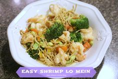 Easy Shrimp Lo Mein I New Orleans Moms Blog
