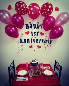 Surpresa de 1 Ano de Namoro – O que Fazer? Anniversary Wishes For Him, Happy One Year Anniversary, Happy Marriage Anniversary, Anniversary Plans, First Wedding Anniversary Gift, Anniversary Banner, Anniversary Surprise, Anniversary Decorations, Anniversary Quotes