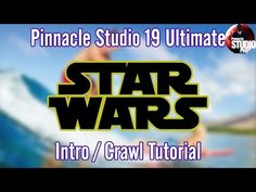 Pinnacle Studio 19 Ultimate | Star Wars Intro / Crawl Tutorial - YouTube