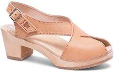 Amazing offer on Sandgrens Swedish High Heel Wood Clog Sandals Women Clog Sandals, Clogs Shoes, Pump Shoes, Women's Shoes Sandals, Shoes Sneakers, Flats, Womens Shoes Wedges, Womens High Heels, Wooden Clogs