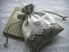 cute drawstring bag This is so beautiful
