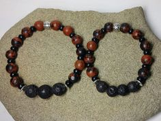 Diffuser Bracelet for Boys or Men Essential by KidsAtHeartBeadShop