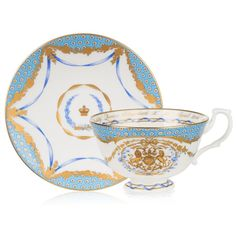 Buckingham Palace The Queen's 90th Birthday Commemorative Teacup And Saucer