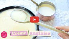 Crème anglaise facile, rapide et inratable ! : Il était une fois la pâtisserie Glass Of Milk, Creme, Drinks, Desserts, Food, Compost, Learn English, Wine List, Custard