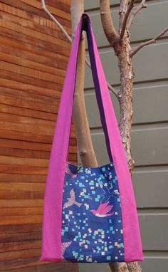 Free Bag Pattern and Tutorial - Monk's Tote Bag