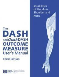 Disabilities of the Arm, Shoulder, and Hand (DASH) Outcome Measure - Great tool for a hand therapy setting