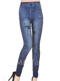 Chic Style Faux Pockets and Patch Design Slimming Pants For Women – teeteecee - fashion in style