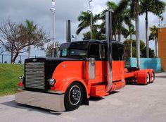 Custom Harley-Davidson Peterbilt Big-Rig Truck | Flickr - Photo Sharing!