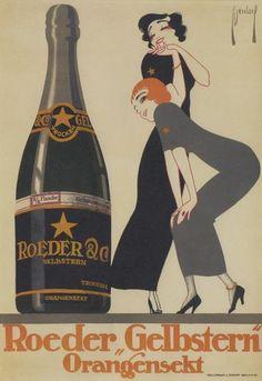 Werbeplakat, um 1911.