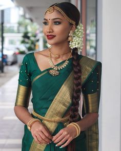 """Usha Sevi Ganeshwaran on Instagram: """"Created this look today for my masteclass on stunning @sivasakti_alexander ♥️ The moment i laid my eyes on this saree, i fell head over…"""" I Fall, Sari, In This Moment, Instagram, Fashion, Saree, Moda, Fashion Styles, Fashion Illustrations"""