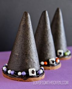 Easy Witches Hat Cookies