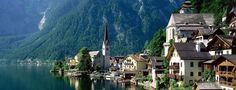 ハルシュタット 「世界の湖畔で最も美しい」と讃えられる町があります。 それは、オーストリアのザルツブルグから鉄道で2時間ほどの場所。