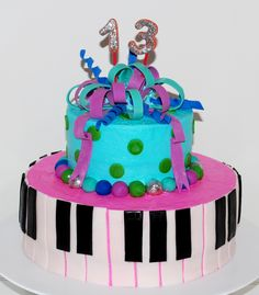 Piano Cake ~ NutMeg Confections