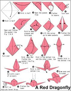 how to fold a dragon origami dragon fly origami paper origami guide printable Moda Origami, Origami Guide, Instruções Origami, Origami Templates, Origami Wedding, Origami And Kirigami, Useful Origami, Origami Tutorial, Simple Origami