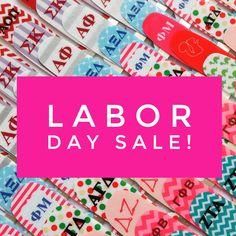 Labor Day Sale.   Sorority nail polish strips only $5 today  - Sept 5th.  Use coupon code BIDDAY at sugarnailz.com