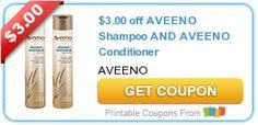 $3.00 off AVEENO Shampoo AND AVEENO Conditioner